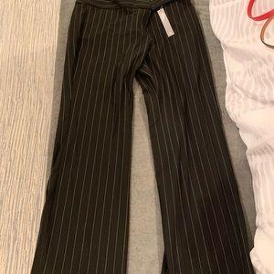 LOFT Marissa trouser, pinstripe